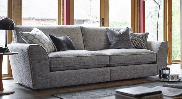 Ashley Manor Sofas Hobbs 4 Seater Sofa – 4 Seater Sofas Pertaining To Preferred 4 Seater Sofas (View 3 of 10)