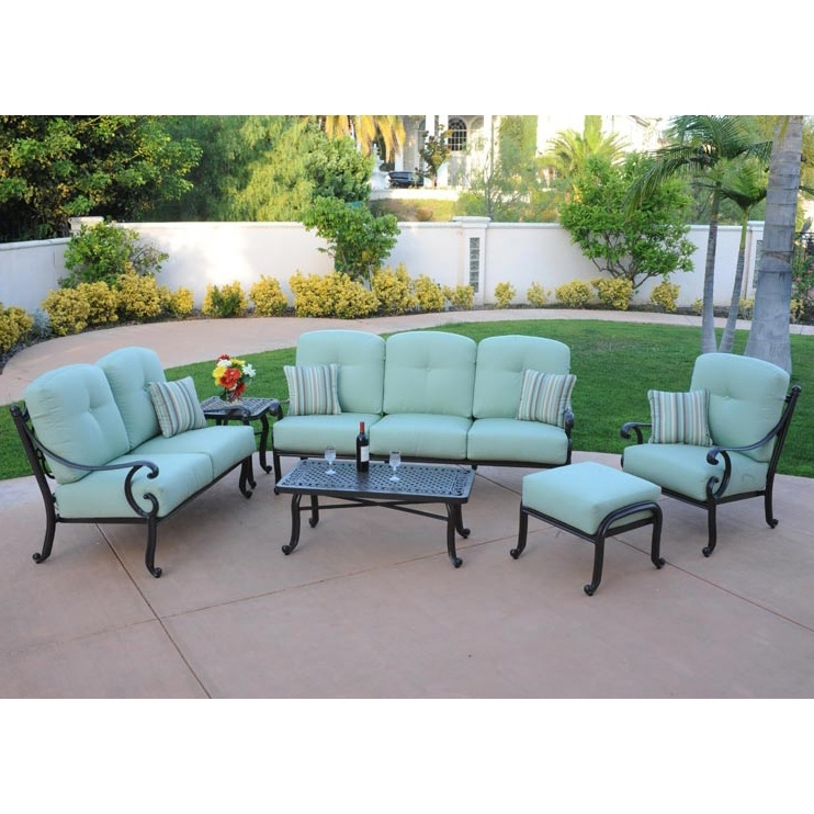 Athena Patio Lounge Furniture Set Regarding Most Recent Chaise Lounge Sets (View 3 of 15)