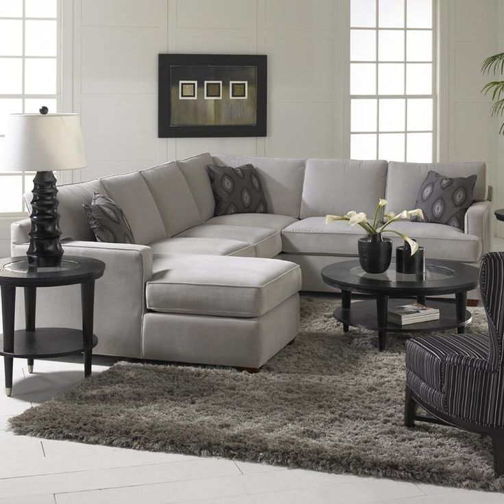 Awesome Living Room 25 Best Ideas About Gray Sectional Sofas On Regarding 2018 Gray Sectional Sofas With Chaise (View 13 of 15)