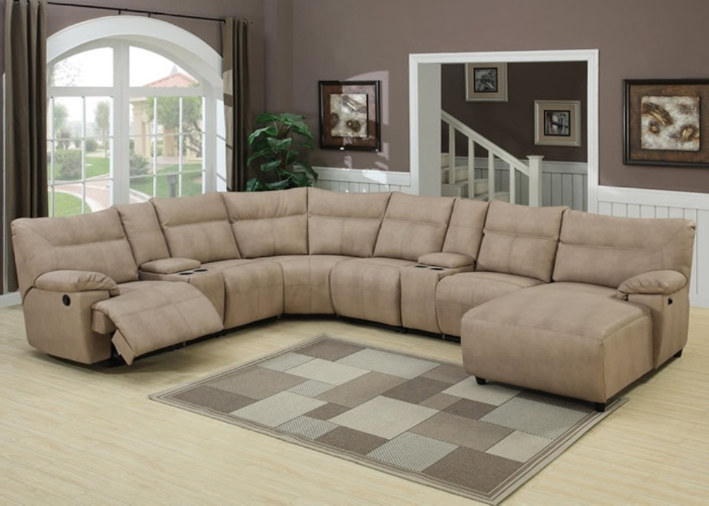 Awesome Microfiber Reclining Sectional Sofa Gallery – Liltigertoo Intended For Famous Microsuede Sectional Sofas (View 2 of 10)