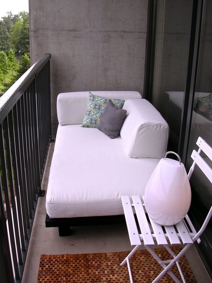 Balcony Design Modern Atlanta With Contemporary Chaise Lounge Chairs In Popular Atlanta Chaise Lounge Chairs (View 8 of 15)