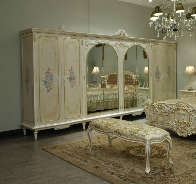 Baroque Wardrobes Intended For Best And Newest French Provincial Bedroom Furniture Bedroom Furniture Wardrobe (View 5 of 15)