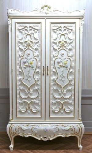 Baroque Wardrobes Regarding Widely Used Baroque Wardrobe 2 Doors Rococo Vp7760 2 – Search Furniture (View 6 of 15)