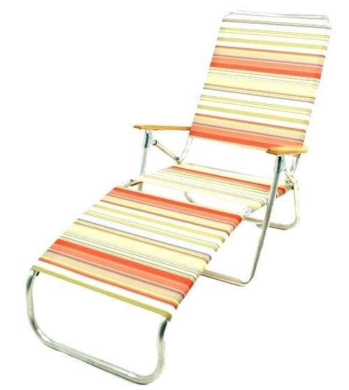 Beach Chaise Lounge Chairs Pertaining To Best And Newest Beach Chaise Lounge Chair (View 4 of 15)