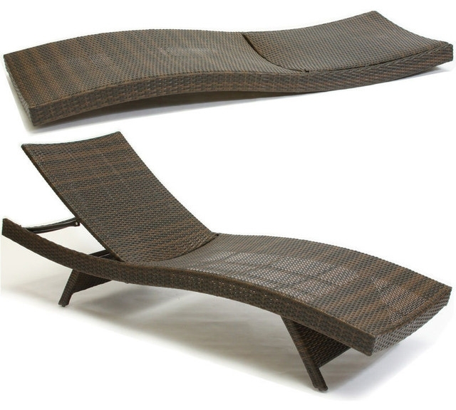 Beach Chaise Lounges Throughout 2018 Garden : Contemporary Outdoor Chaise Lounges New Design Lounge (View 6 of 15)