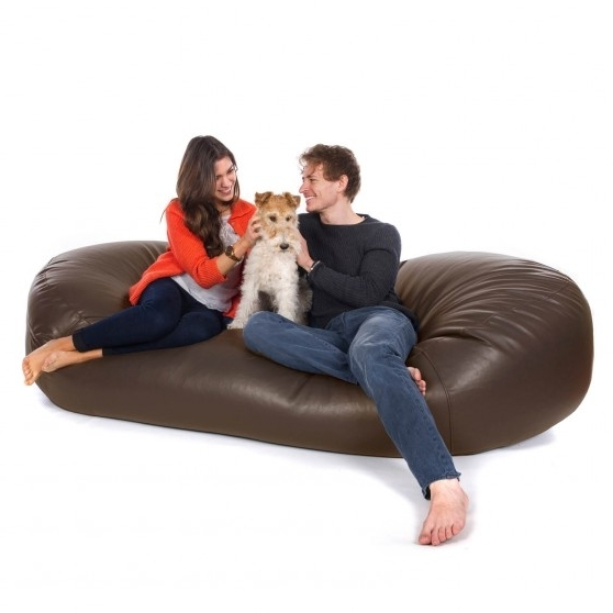 Bean Bag Sofas From Greatbeanbags™ (View 2 of 10)