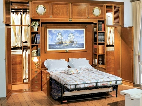 Bed And Wardrobes Combination In Favorite To The Classic Wardrobe (View 8 of 15)