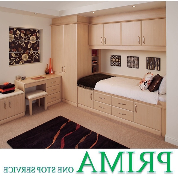 Bed And Wardrobes Combination Intended For 2018 Bed Wardrobe, Bed Wardrobe Suppliers And Manufacturers At Alibaba (View 3 of 15)