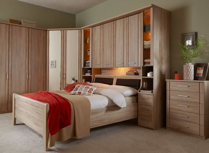 Bedroom Innovative Dreams Bedroom Furniture Wardrobes Pertaining With Regard To Most Recent Over Bed Wardrobes Sets (View 1 of 15)