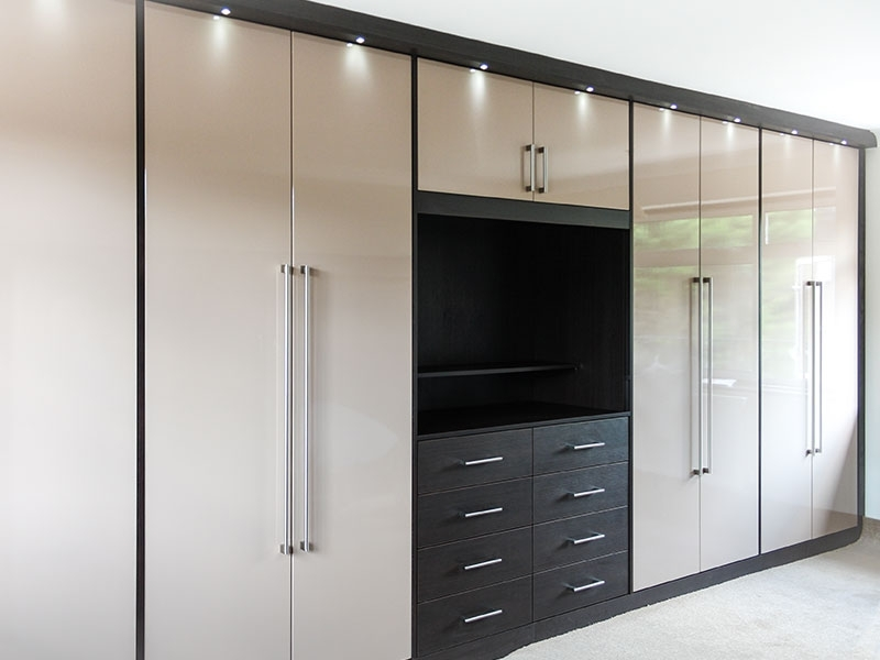 Bedroom Wardrobes For Well Known Bespoke Fitted Wardrobes & Bedroom Furniture From Martin West London (View 1 of 15)