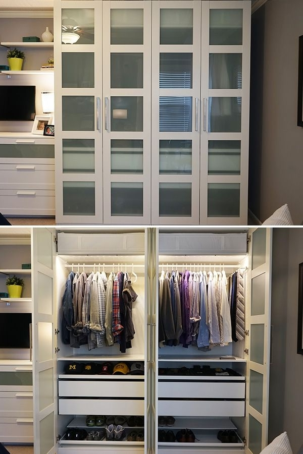 Bedrooms, Bi Fold With Regard To Bedroom Wardrobes Storages (View 7 of 15)
