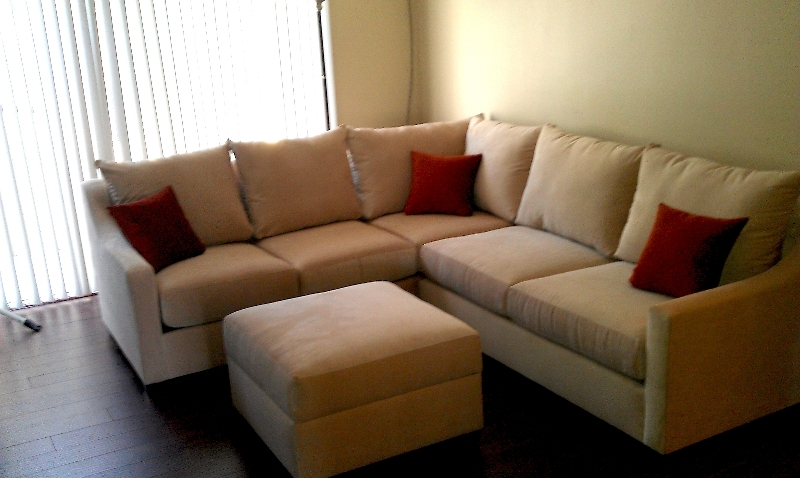 Beige Sectional Sofas Regarding Latest Nice Sectional Sofa With Ottoman Sectional Couch With Ottoman (View 3 of 10)