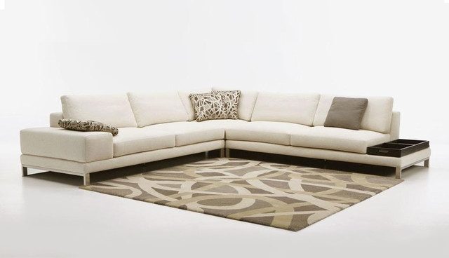 Beige Sectionals With Chaise In Best And Newest Sectional Sofa Design: Best Sofas And Sectionals Leather (View 2 of 15)