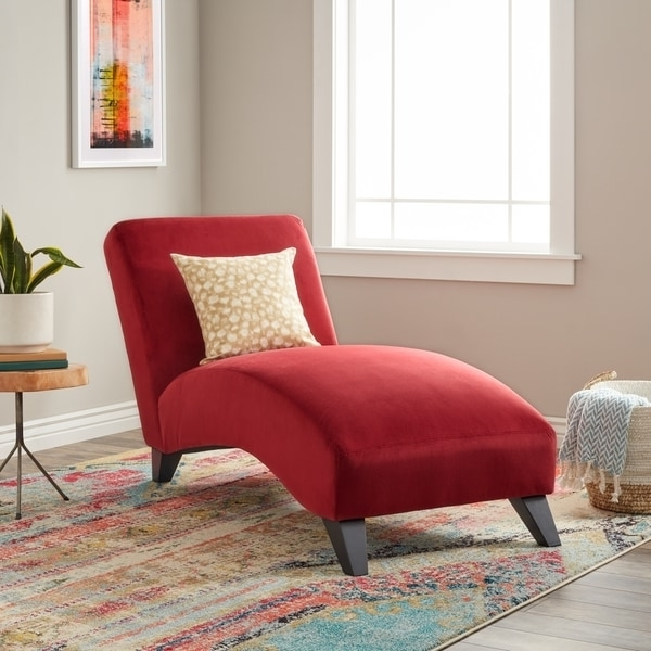 Bella Chaise Lounge Berry – Free Shipping Today – Overstock Pertaining To Newest Overstock Chaise Lounges (View 13 of 15)