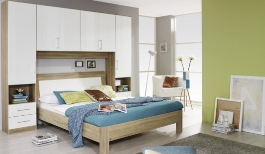 Bensons For Beds With Overbed Wardrobes (View 5 of 15)
