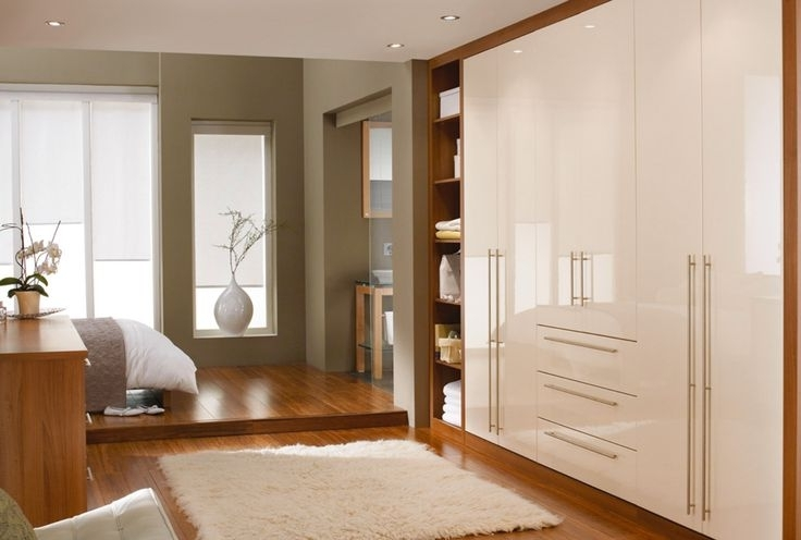 Bespoke Bedroom Furniture For 2018 Cream Gloss Wardrobes (View 1 of 15)
