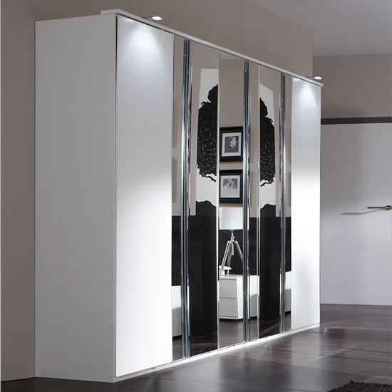 Best 4 Door Wardrobe Designs For Bedroom Interior – Fif Regarding Best And Newest 5 Door Wardrobes Bedroom Furniture (View 11 of 15)