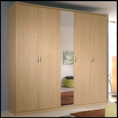 Best And Newest 5 Door Wardrobes Within Bedroom : Likable 5 Door Wardrobe Bedroom Furniture Bedrooms (View 5 of 15)