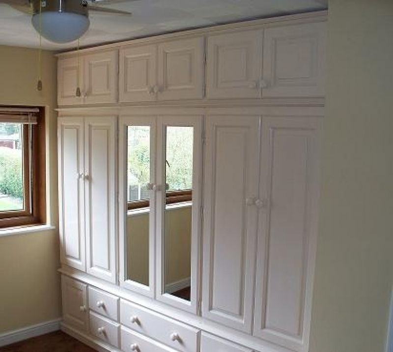 Best And Newest 6 Door Wardrobes Bedroom Furniture Throughout 6 Door Wardrobe Bedroom Furniture Handmade Solid Pine Bedroom  (View 4 of 15)