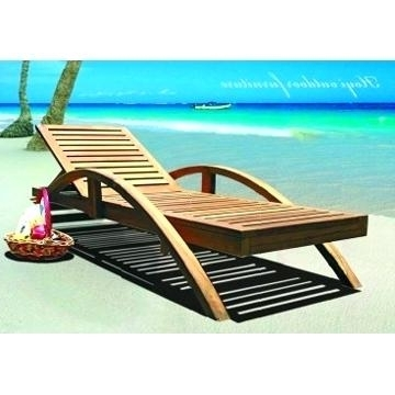 Best And Newest Beach Chaise Lounge Chairs With Regard To Beach Chaise Lounge Beach Chaise Lounge Recliner Chair Beach (View 7 of 15)