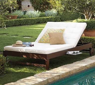 Best And Newest Chesapeake Double Chaise And Cushion – Modern – Outdoor Chaise For Outdoor Double Chaises (View 2 of 15)