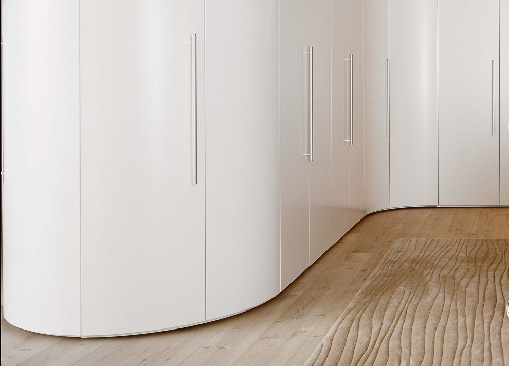 Best And Newest Curved Wardrobes Doors With Regard To Tempo Curved Wardrobe (View 2 of 15)