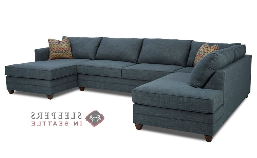 Best And Newest Customize And Personalize Valencia Chaise Sectional Fabric Sofa Intended For Dual Chaise Sectionals (Gallery 5 of 15)