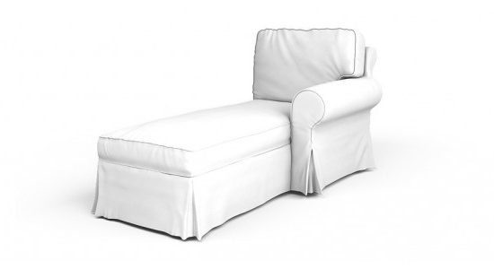 Best And Newest Ektorp Chaise Lounge Left Cover Inside Chaise Lounge Covers (View 8 of 15)