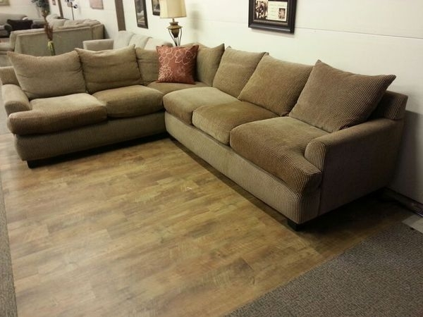Best And Newest Everett Wa Sectional Sofas With Regard To Robert Michaels Down Filled Sectional Sofa Couch (Furniture) In (View 10 of 10)
