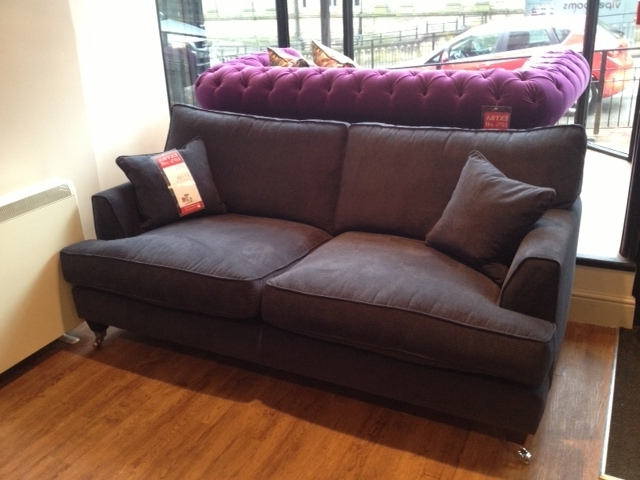 Best And Newest Florence Large Sofa In Vogue Navy – Http://www (View 3 of 10)