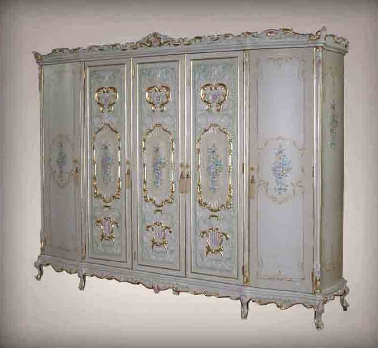 Best And Newest French Wardrobes Regarding French Antique Furniture – Royalty Classic Solid Wood Hand Carved (View 1 of 15)