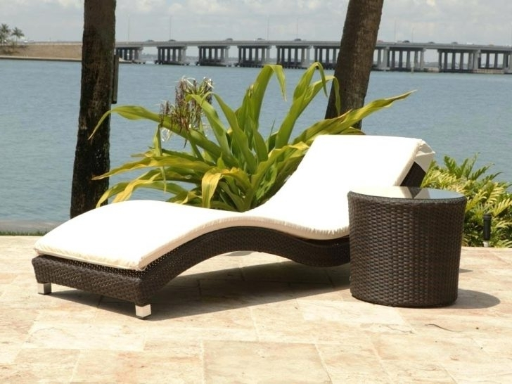 Best And Newest Grey Wicker Outdoor Chaise Lounge Belladonna Resin Wicker Chaise Within Grey Wicker Chaise Lounge Chairs (View 2 of 15)