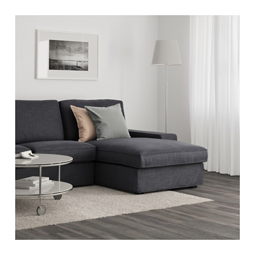 Best And Newest Ikea Kivik Chaises Pertaining To Kivik Sofa – With Chaise/hillared Anthracite – Ikea (View 9 of 15)