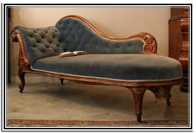 Best And Newest Incredible Antique Chaise Lounge Antique Chaise Lounge Chairs Inside Antique Chaise Lounge Chairs (View 5 of 15)