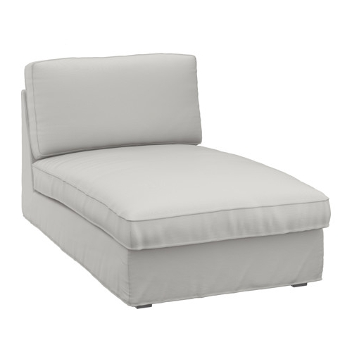 Best And Newest Kivik Chaise Longue Ramna Light Grey – Ikea For Ikea Kivik Chaises (View 3 of 15)