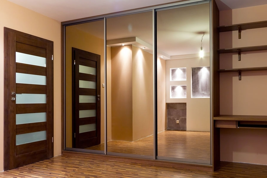 Best And Newest Mirror Wardrobes With Jmgd2015006 Bronze Mirror Wardrobes – Wardrobe Door (View 7 of 15)