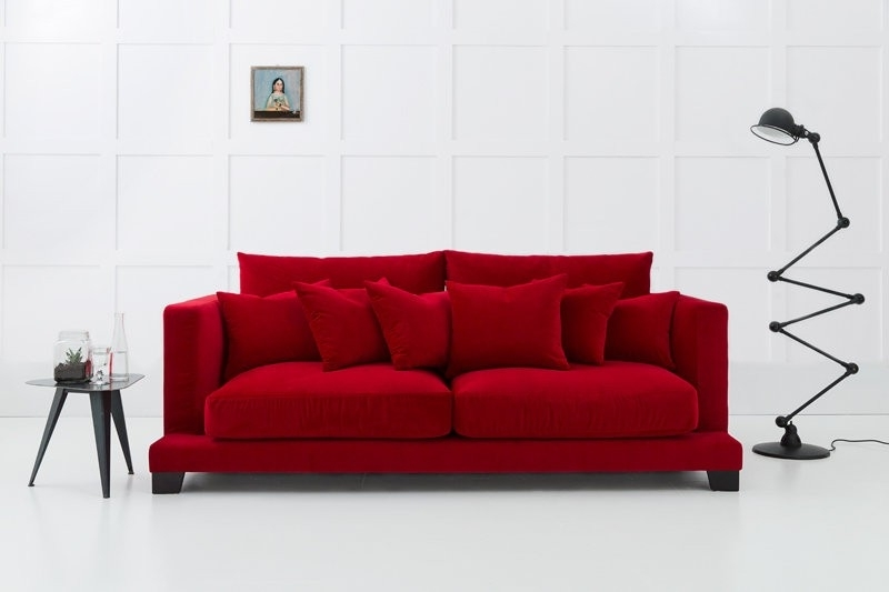Best And Newest Modern 3 Seater Sofas With Regard To Modern Sofa (View 2 of 10)