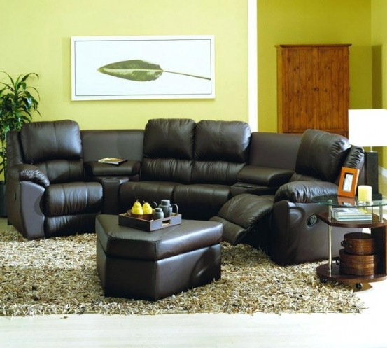 Best And Newest Motion Sectional Sofas Intended For Caruso Leather Power Motion Sectional Sofa Like Fabric Home With (View 2 of 10)