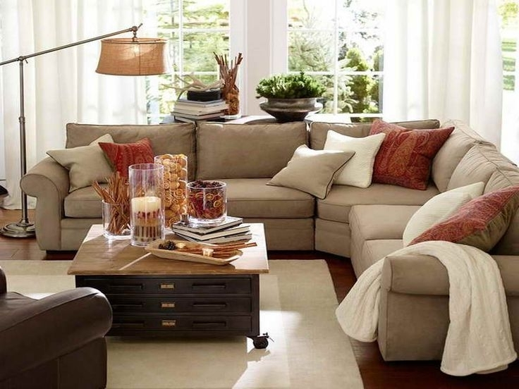 Best And Newest Pottery Barn Decorating Ideas Pictures Website Inspiration Images Inside Sectional Sofas Decorating (View 1 of 10)