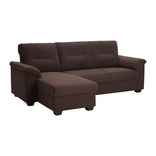 Best And Newest Quincy Il Sectional Sofas In Knislinge Sectional, 3 Seat Right – Samsta Dark Brown – Ikea (View 2 of 10)