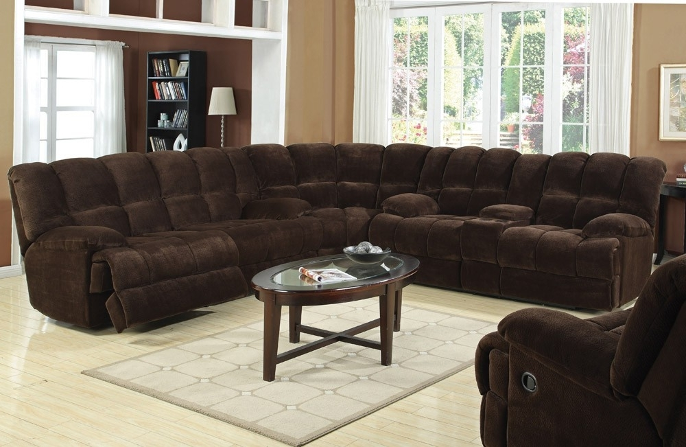 Best And Newest Recliner Sectional Sofa Intended For Reclining Sectional Sofas (View 1 of 10)
