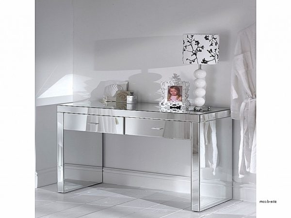 Best And Newest Romano Mirrored Wardrobes With Regard To Console Tables: Romano Mirrored Console Table New Romano Mirrored (View 4 of 15)