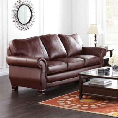 Best And Newest Sears Leather Sofa Www Gradschoolfairs Com Intended For Idea 1 Within Sears Sofas (View 1 of 10)