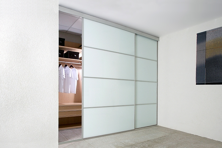 Best And Newest Sliding Wardrobe Doors In White Gloss, White Glass And White Matte (View 2 of 15)