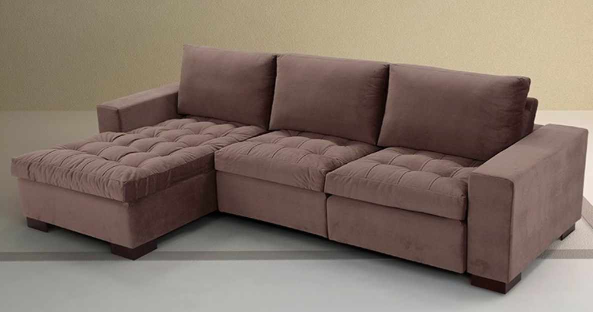 Best And Newest Sofas Chaise – Home And Textiles Inside Sofas With Chaise (View 2 of 15)