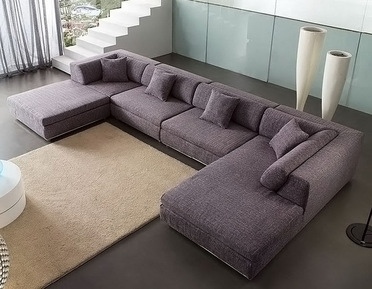 Best And Newest U Shaped Sectional Sofa For Small Space Exist Decor Regarding Inside Deep U Shaped Sectionals (View 1 of 10)