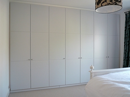 Best And Newest White Painted Wardrobes Regarding Commissions, White Painted Wardrobe (View 4 of 15)