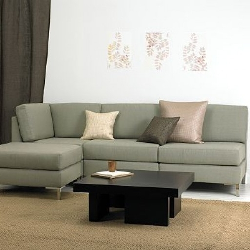Best Choice Of Armless Sectional From West Elm Furnishings Better For Newest Armless Sectional Sofas (View 4 of 10)