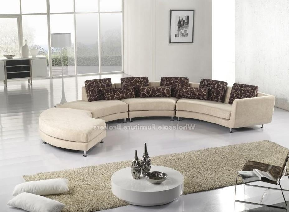 Best Fabric Sectional Sofas With Fabric Curved Sectional Sofa Throughout Best And Newest Fabric Sectional Sofas (View 2 of 10)