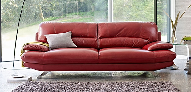 Best Inside Red Leather Couches And Loveseats (View 9 of 10)